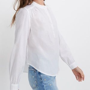 Madewell NWT POPOVER TOP!!!